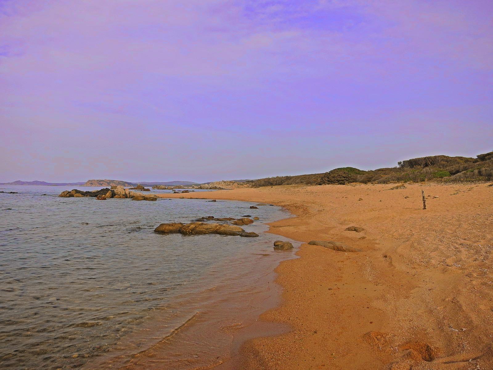 Sardinien 2015 – Einsamer steiniger Strand