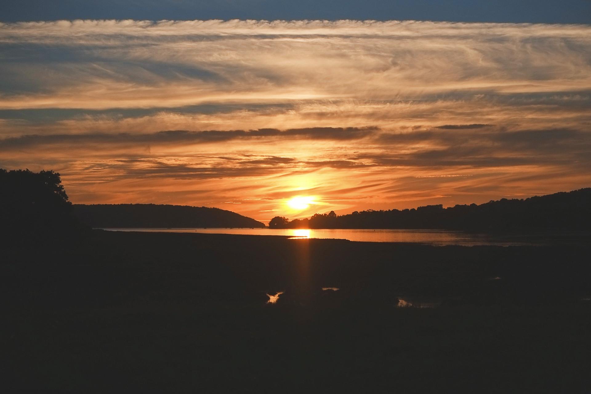Sonnenuntergang Le Faou